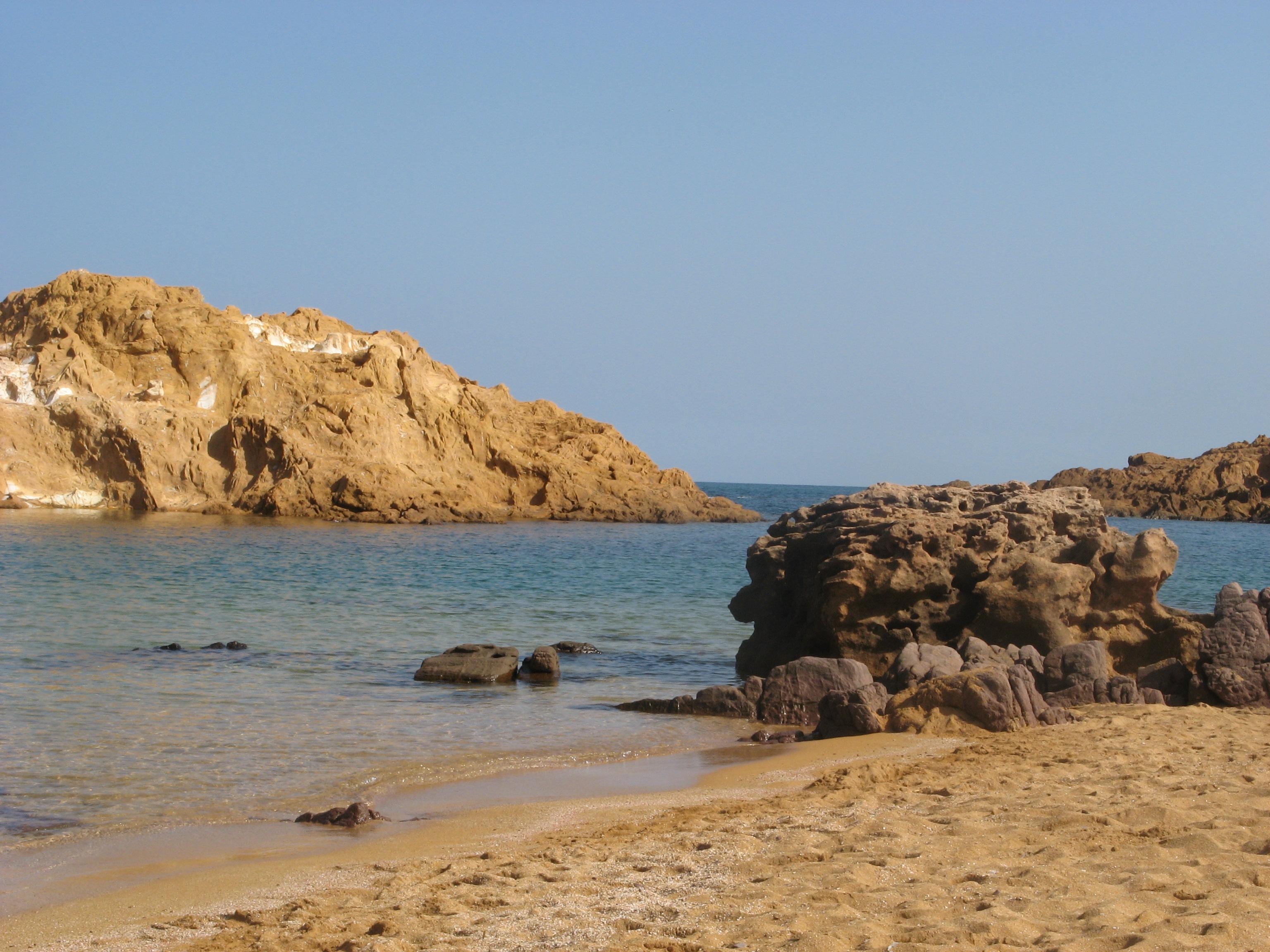 Foto playa Binimel-La. Cala Pregonda