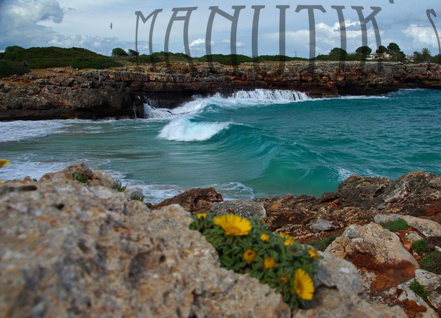 Foto playa Cala Morlanda. Caló d´en Rafelinos