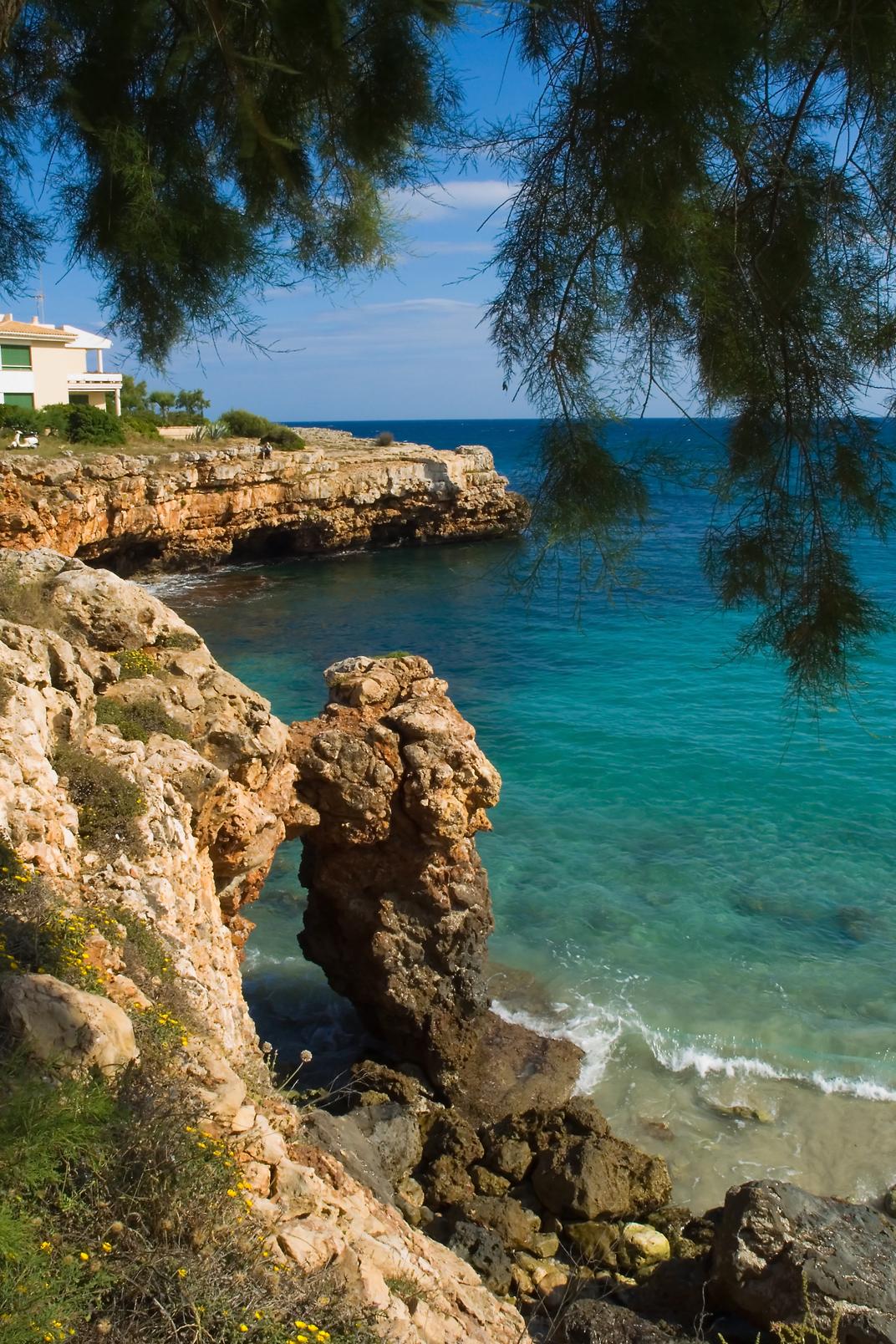 Foto playa Cala Morlanda. Mallorka