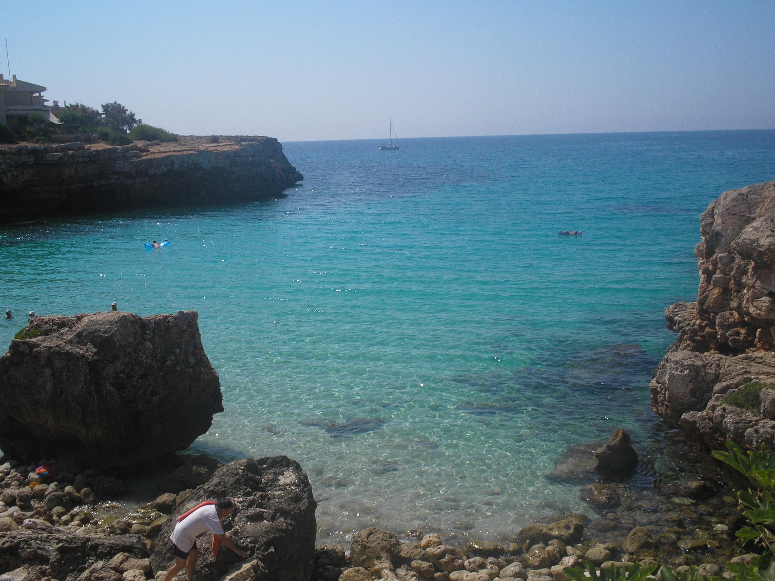 Foto playa Cala Morlanda. Na Morlanda