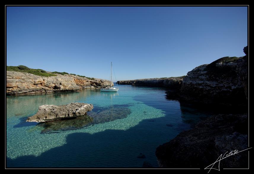 Foto playa Cala Petita. Cala Petita - Porto Cristo - Illes Balears - Buy a print in - http://cafate.blogspot.com/