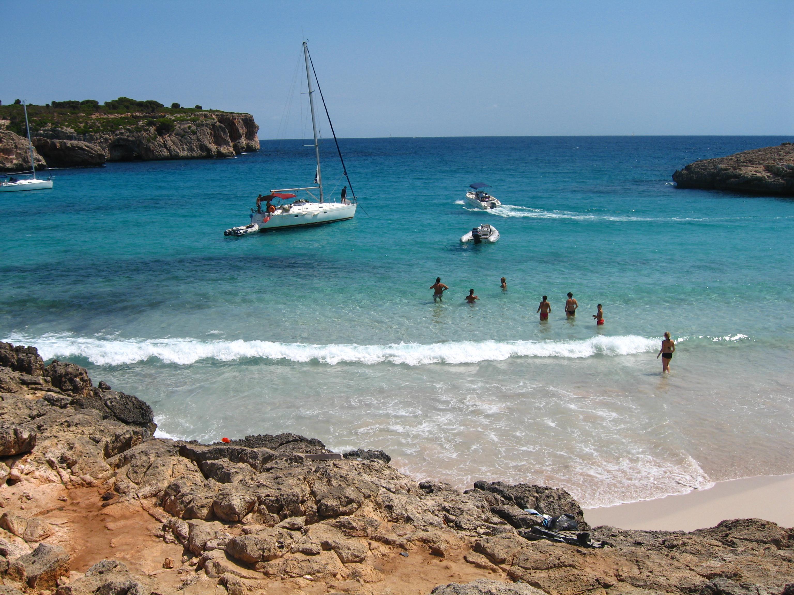 Foto playa Cala Magraner. cala varques