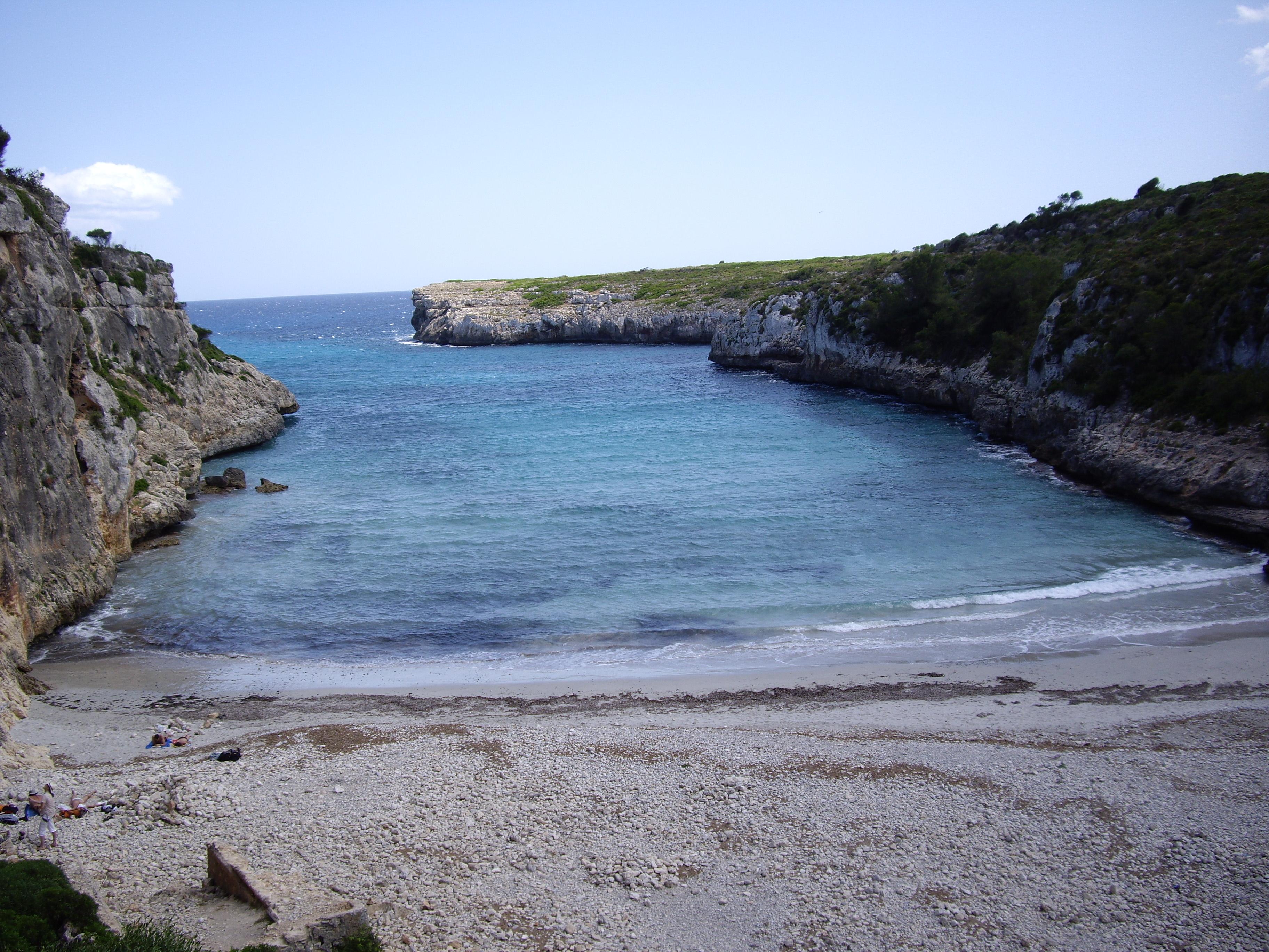 Foto playa Cala Pilota. Cala Magraner