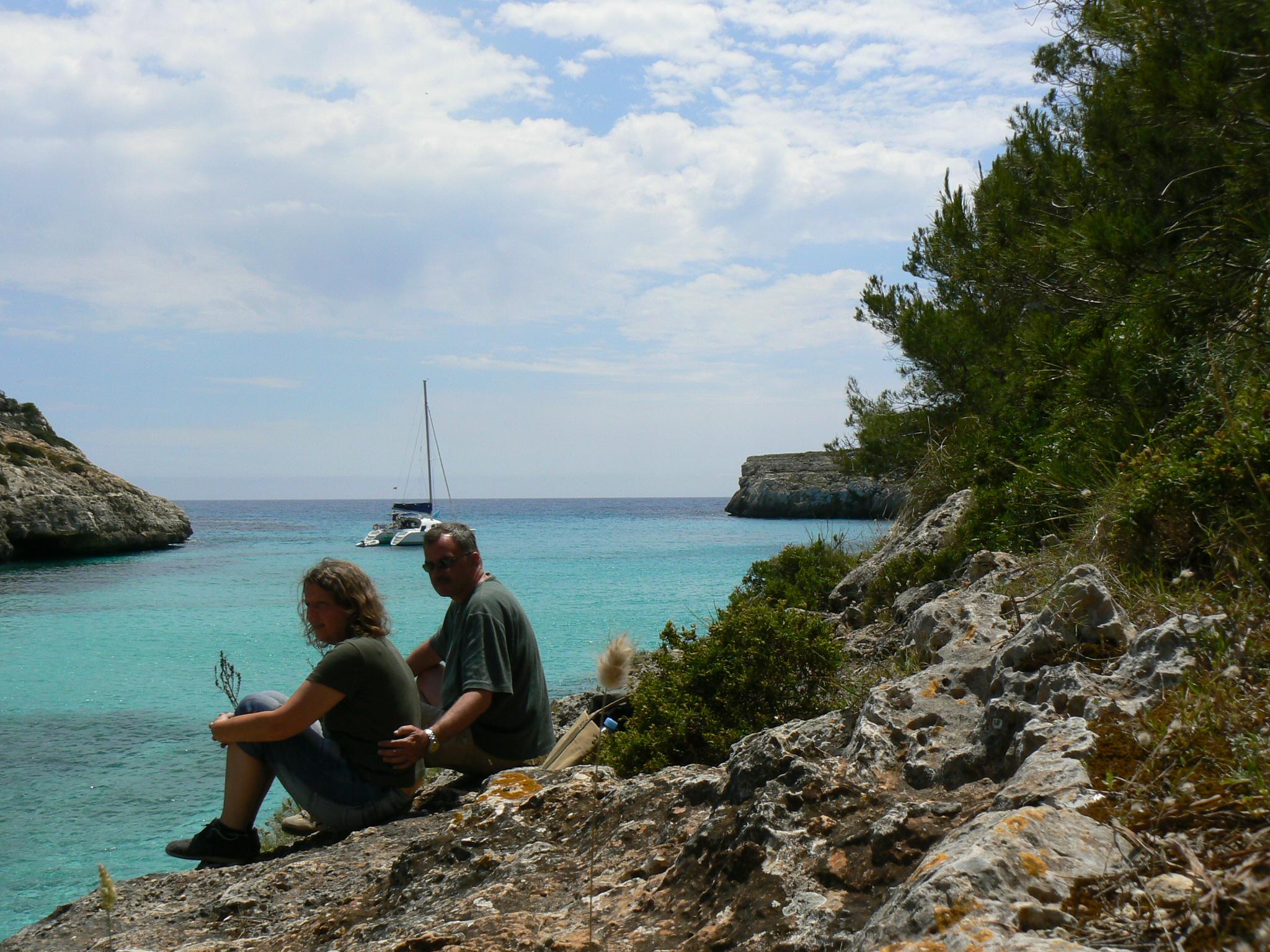 Foto playa Cala Pilota. in der Cala Magraner