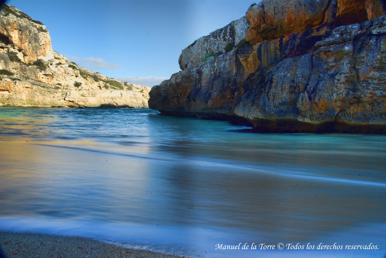 Foto playa Cala Marmols. Cala Marmols
