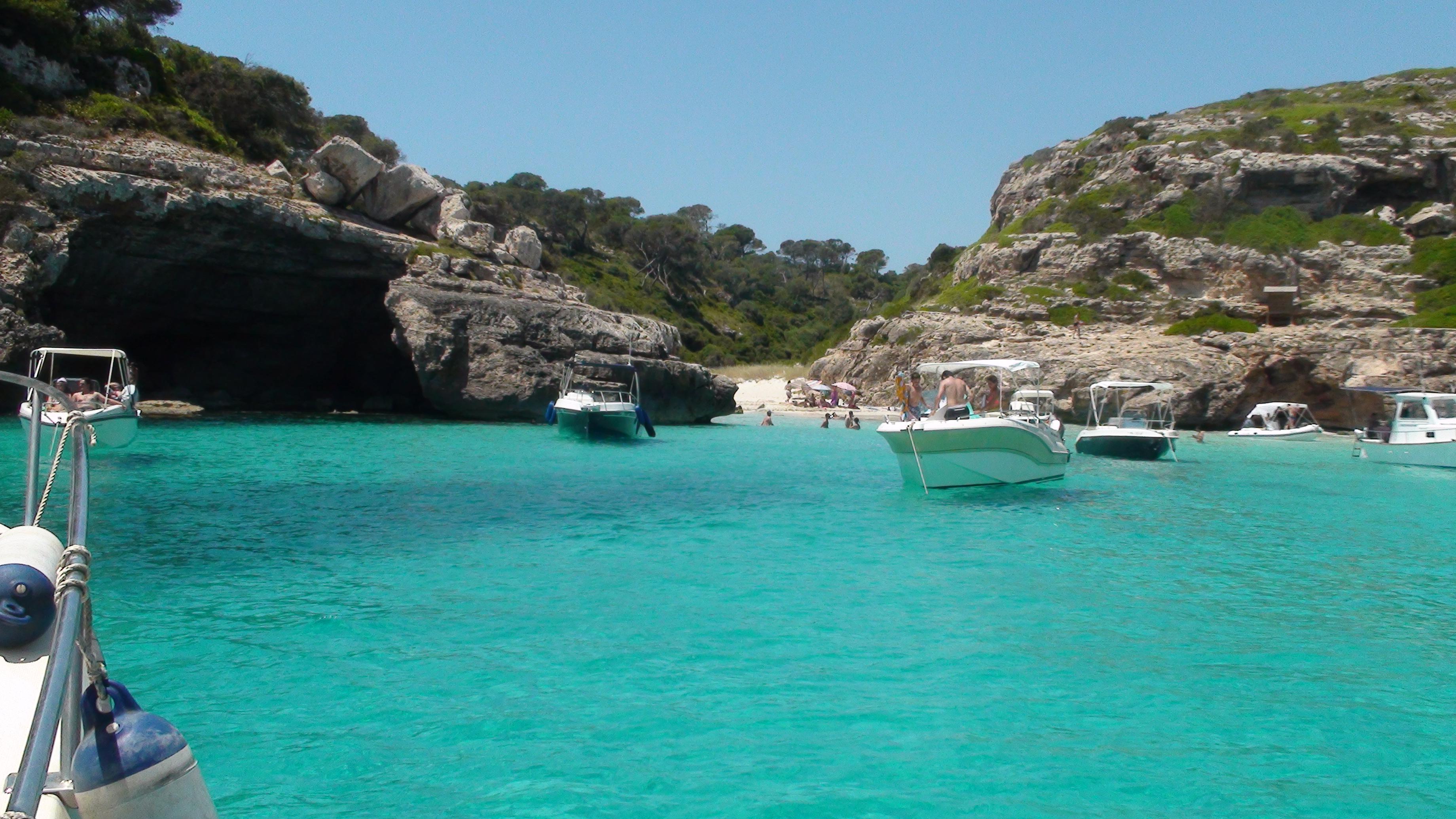Foto playa Cala Marmols. Cala Marmol 2