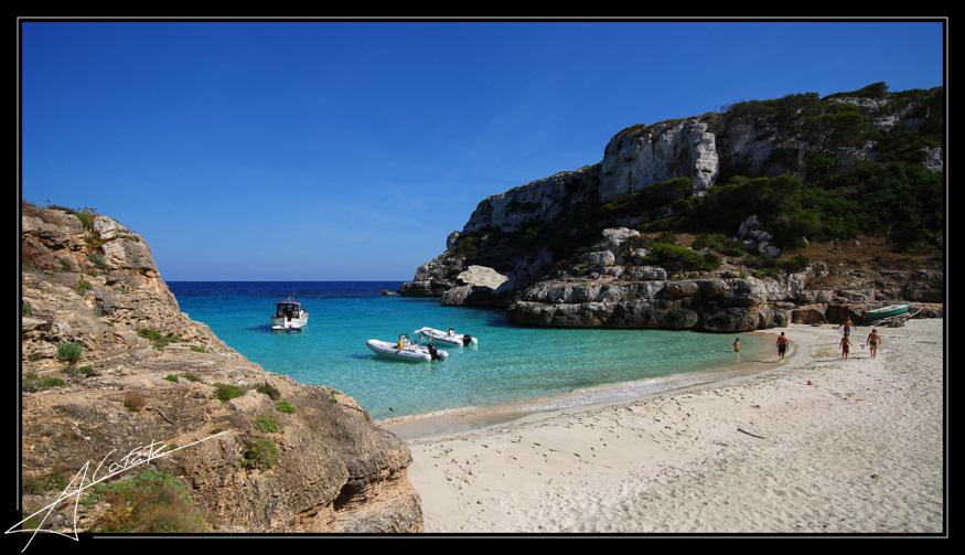 Foto playa Cala Marmols. Cala Màrmol - Illes Balears - Buy a print in - http://cafate.blogspot.com/