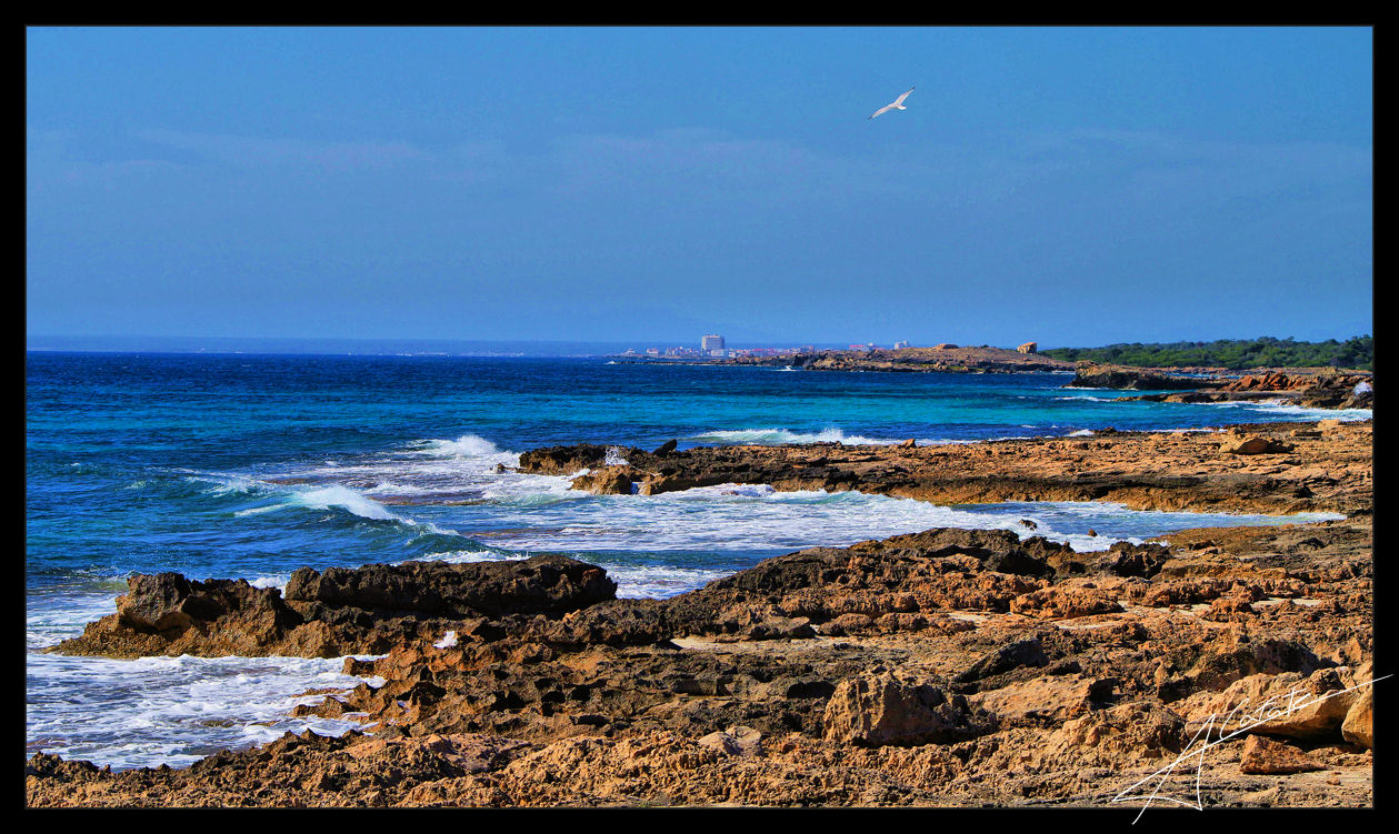 Foto playa Es Caragol. Cami cap es Carbó - Illes Balears - Buy a print in - http://cafate.blogspot.com/