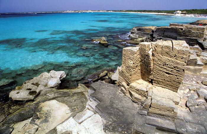 Foto playa Es Caragol. Platja des Trenc