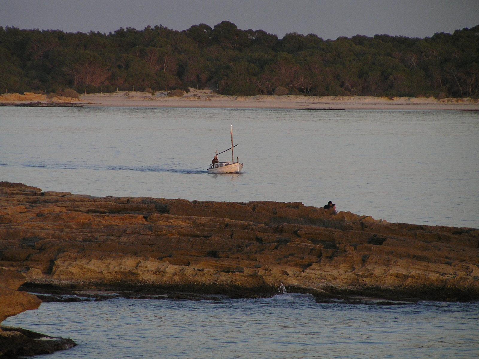 Foto playa Cala Galiota. Vespre a Sa Colonia de San Jordi P1033154