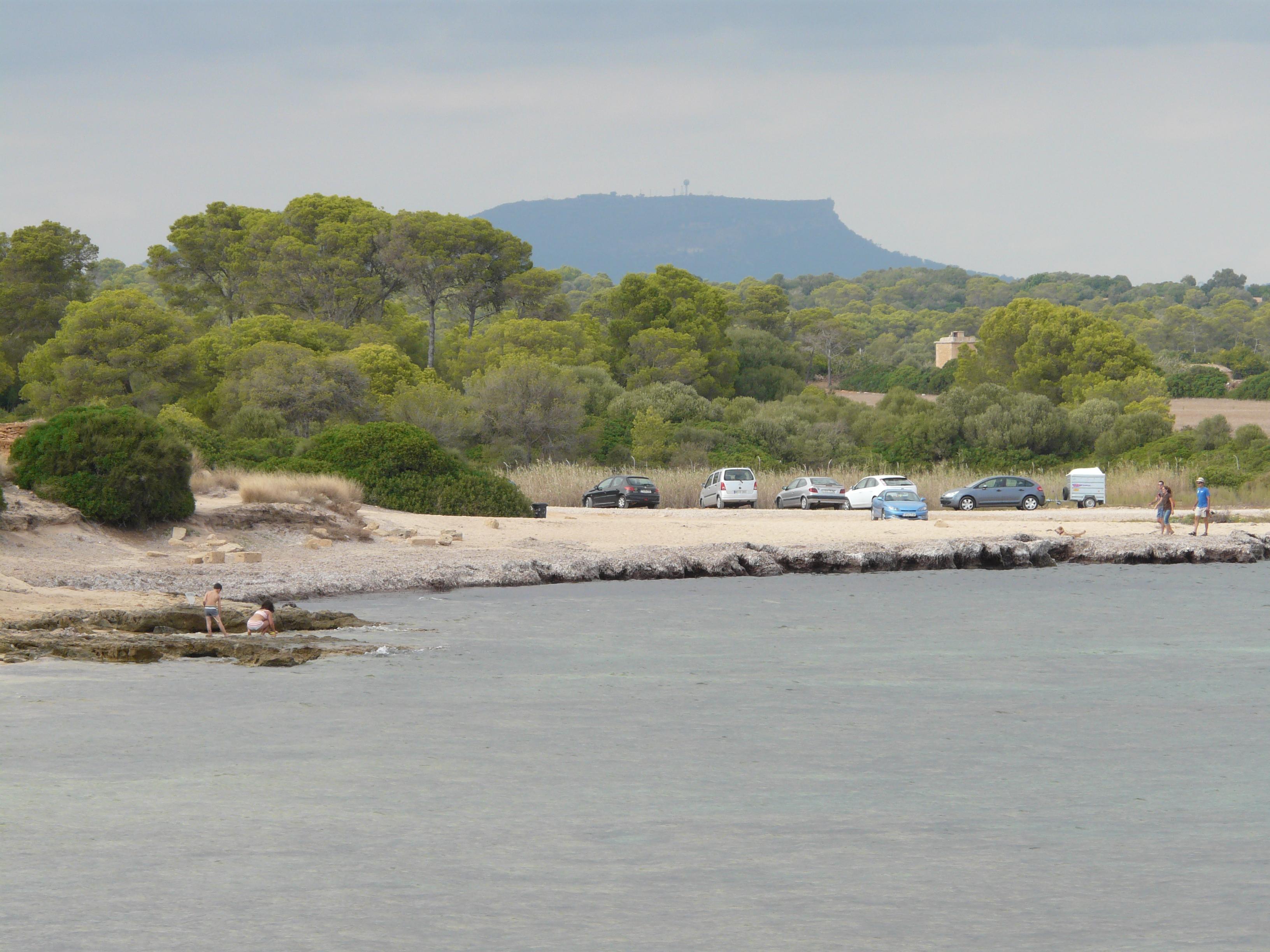Foto playa Caló En Timo. Küste bei s Estanyol