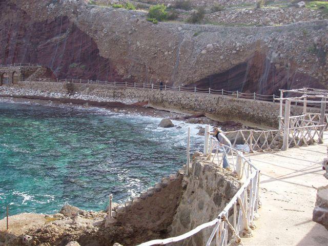 Foto playa Cala Estellencs. Estellencs