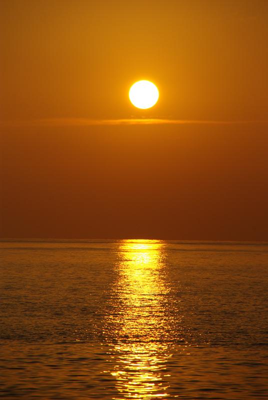 Foto playa Son Bunyola. Puesta Sol Port d´es Canonge