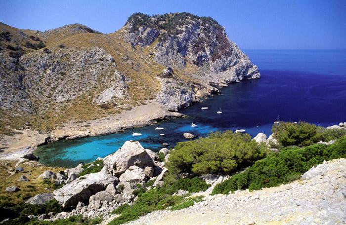 Foto playa Cala Boquer. Cala Figuera