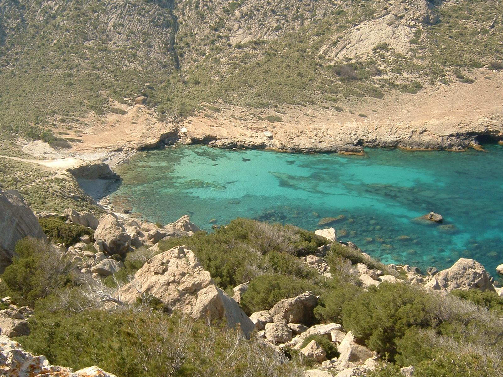 Foto playa Cala Figuera. cala figuera