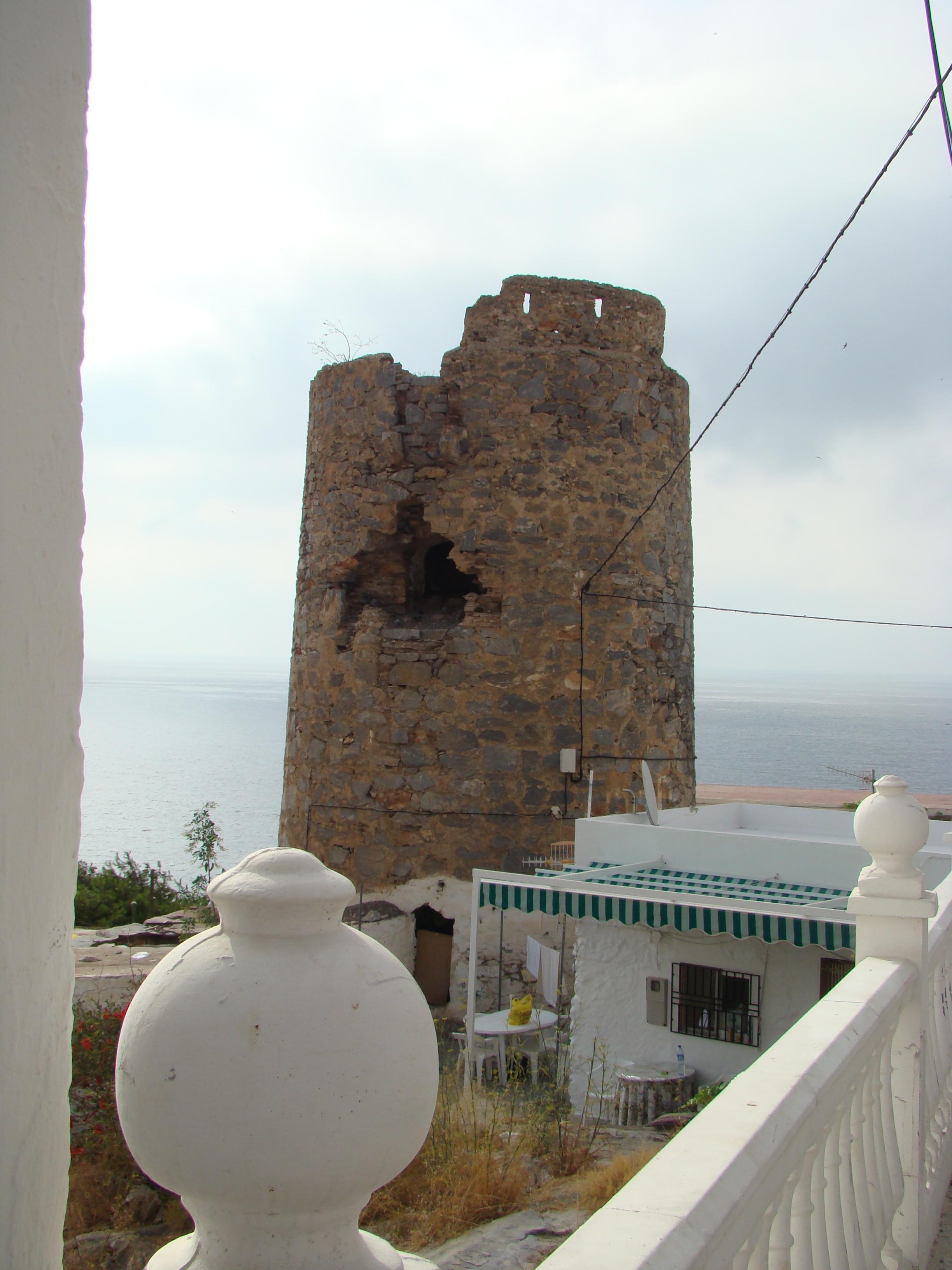 Foto playa Sotillo / Castell de Ferro. Torre  Castelldeferro