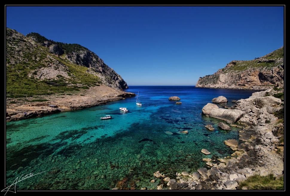 Foto playa Cala Figuera. Cala Figuera - Cap Formentor - Buy a print in - http://cafate.blogspot.com/