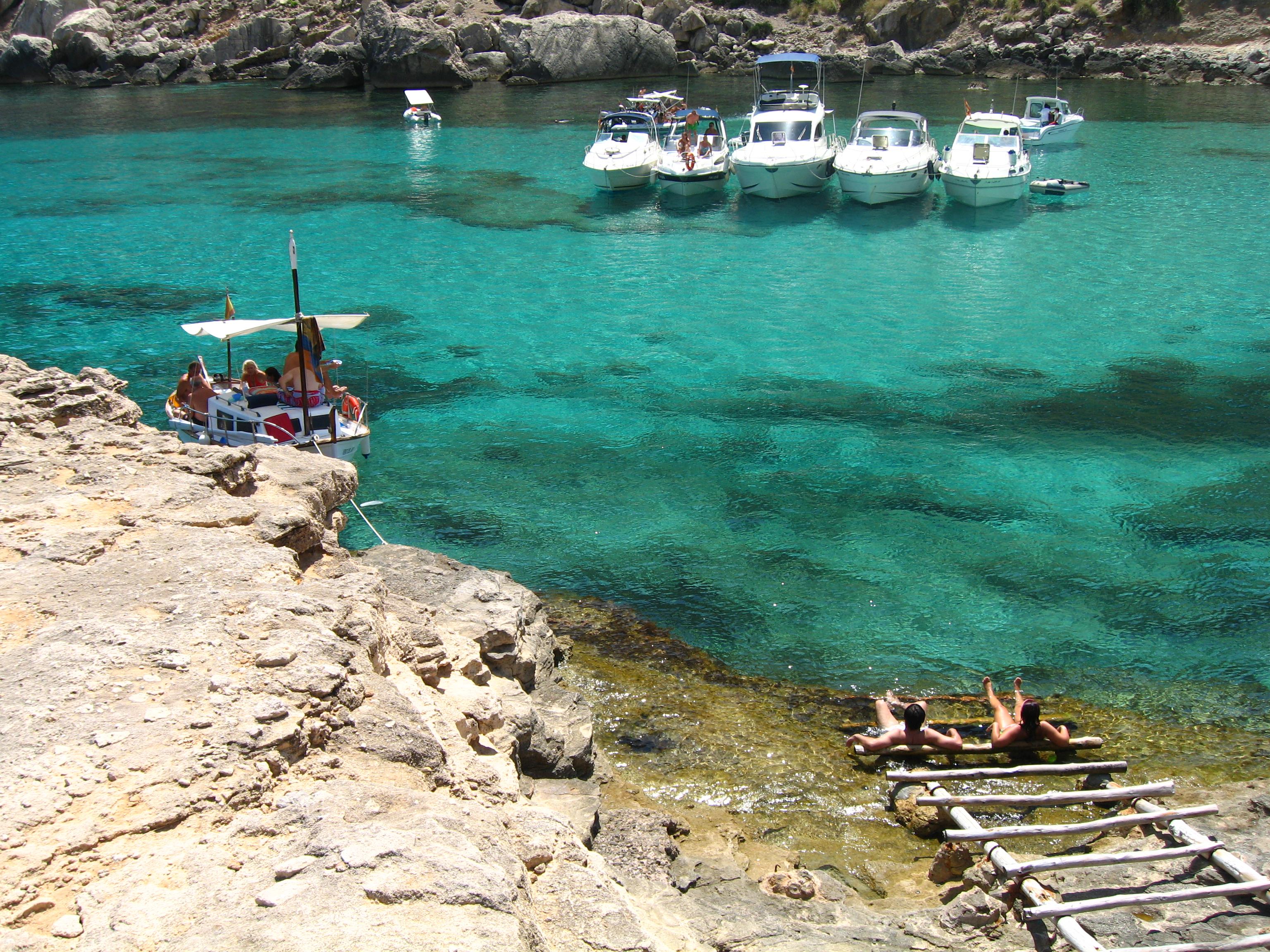 Foto playa Cala Figuera. paradís