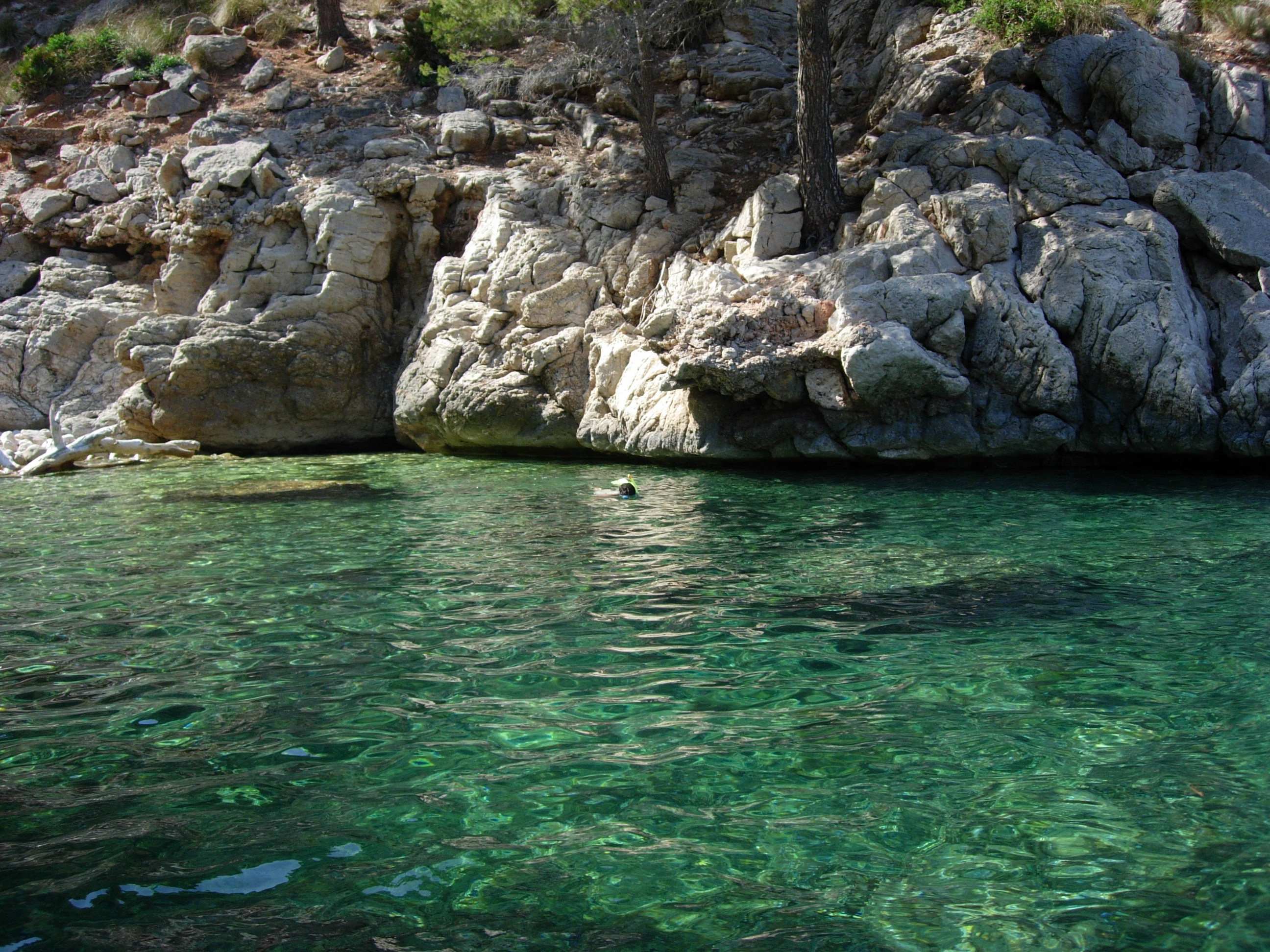 Foto playa Cala en gossalba. Cala engossauba