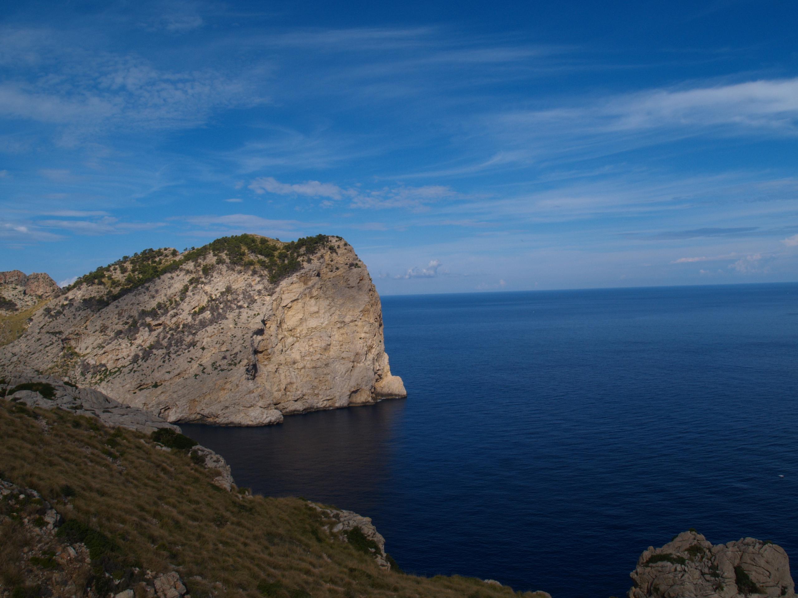Foto playa Cala en gossalba. Natur pur