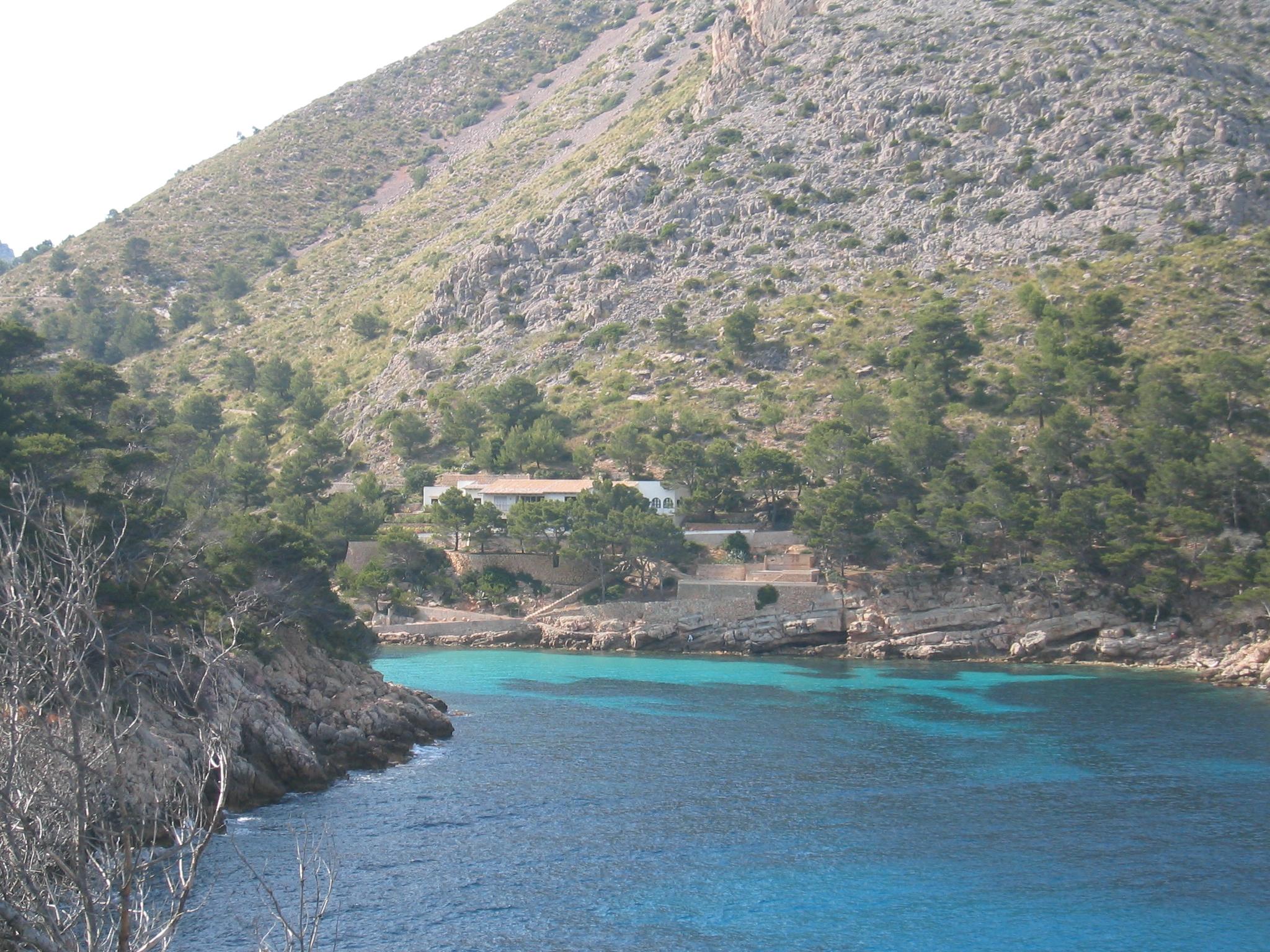 Foto playa Cala en gossalba. Cala Murta 14 may 2006