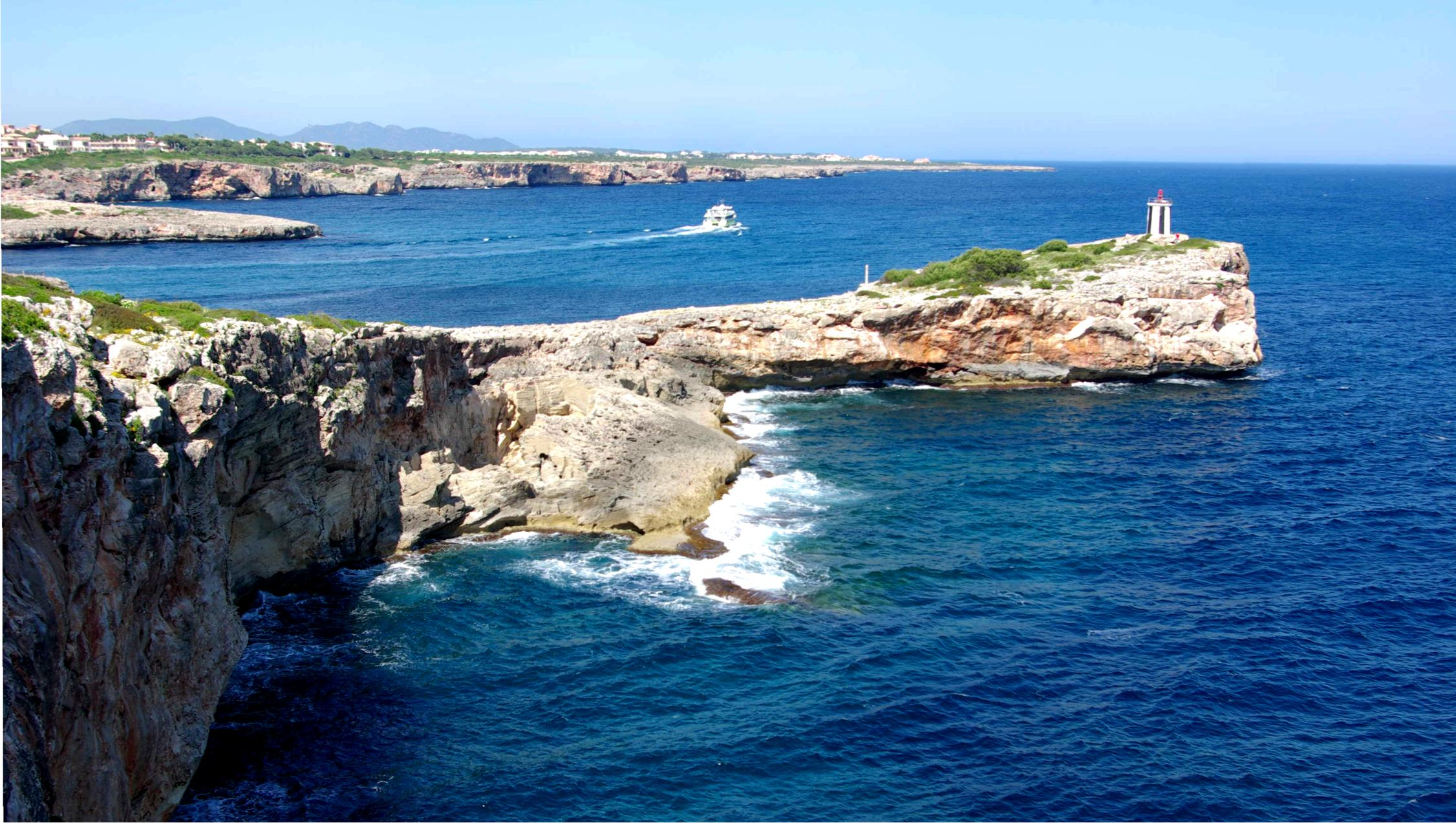 Foto playa Cala Murta. Punta Porto Cristo Mallorca - Buy a print in - http://cafate.blogspot.com/