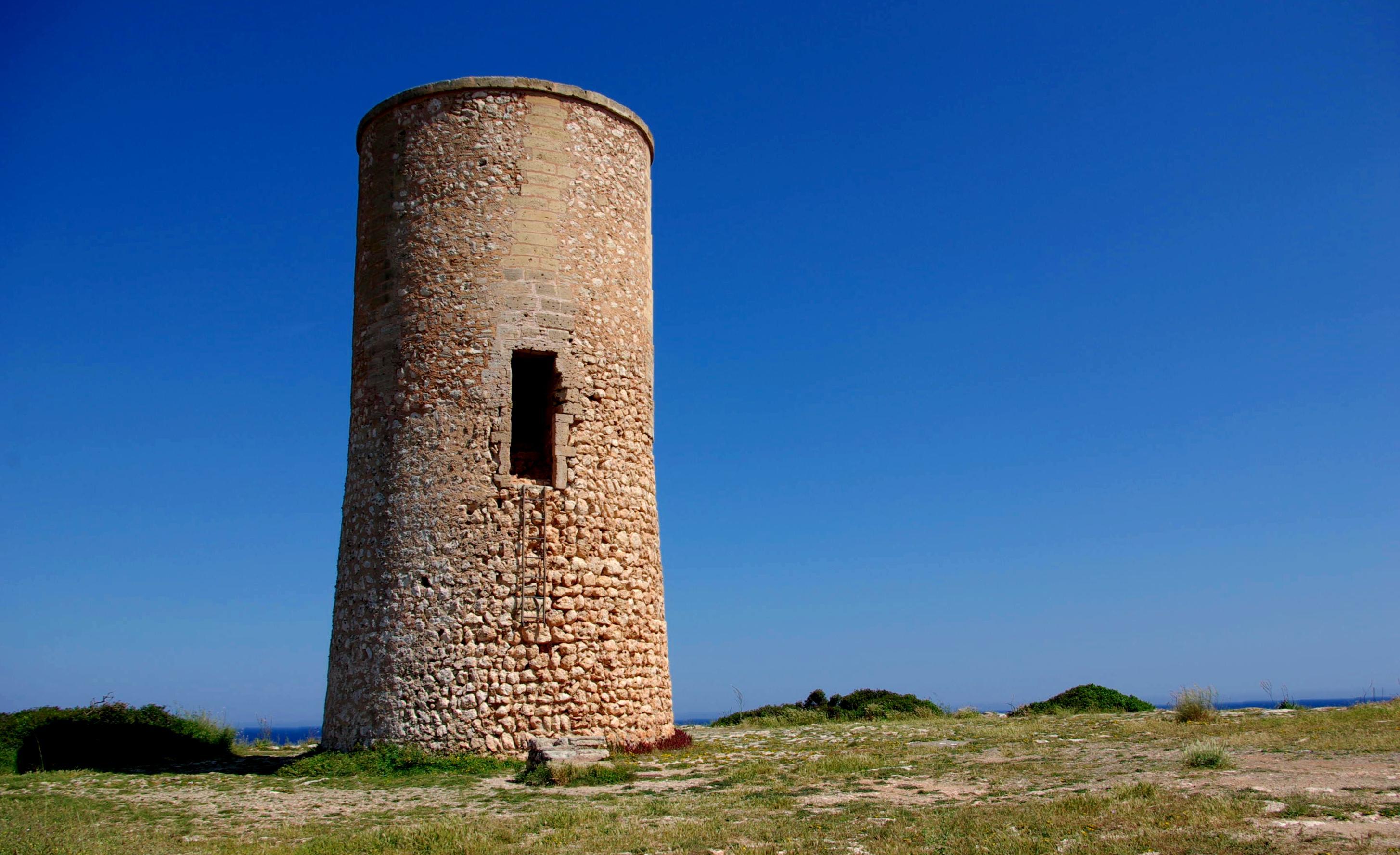 Foto playa Cala Murta. Torre Torre dels Falcons  -  Porto Cristo -  Mallorca - Buy a print in - http://cafate.blogspot.com/