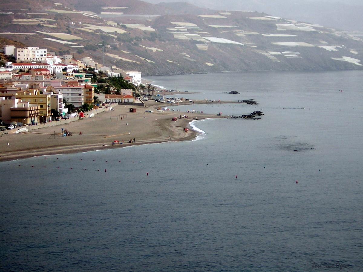 Foto playa Sotillo / Castell de Ferro. Castell de Ferro Beach