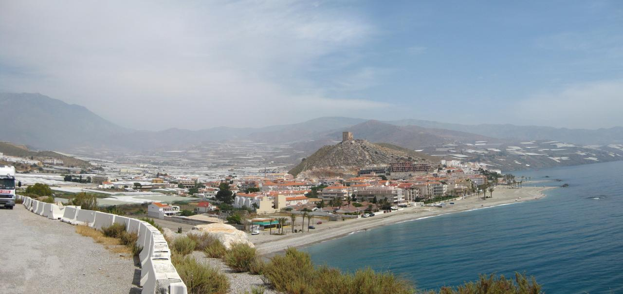 Foto playa Sotillo / Castell de Ferro. Castell de Ferro - panorámica