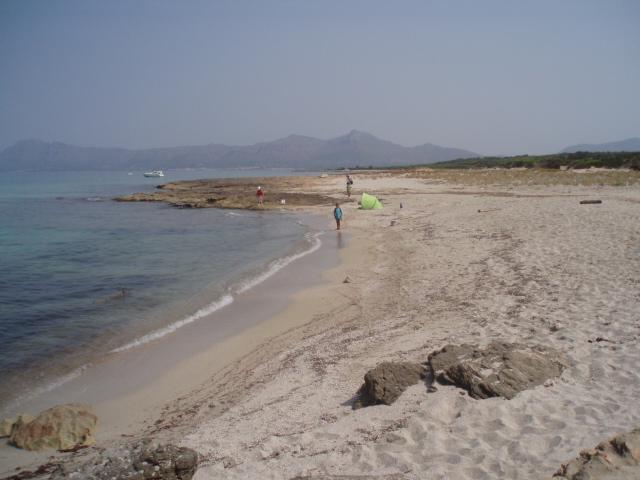 Foto playa Sa Cánova. zona virgen son real