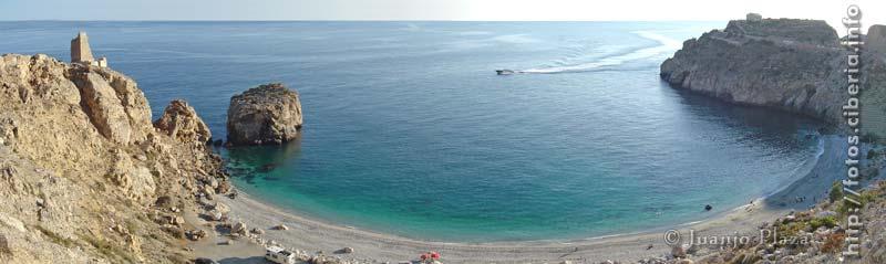 Foto playa La Rijana. La Rijana (Granada)