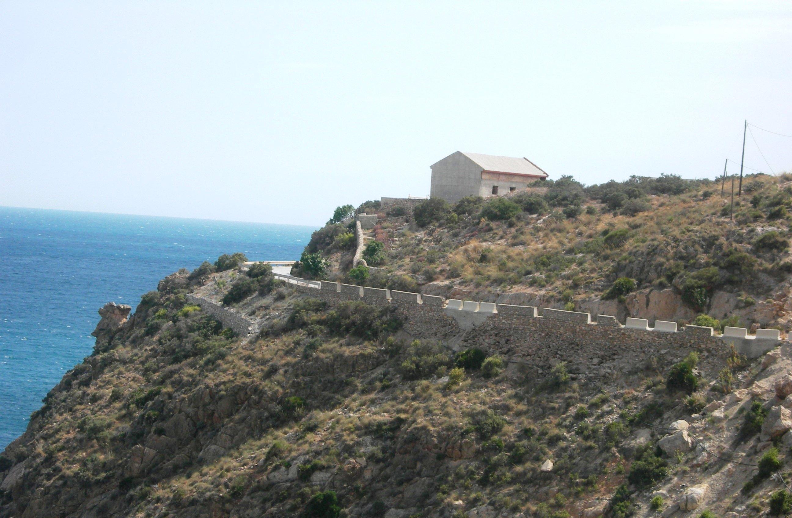 Foto playa La Rijana. castell de ferro, granada, spain