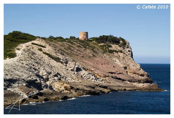 Foto playa Cala es Matzoc. Torre d´es Matzoc - Costa d´Artà - Buy a print in - http://cafate.blogspot.com/