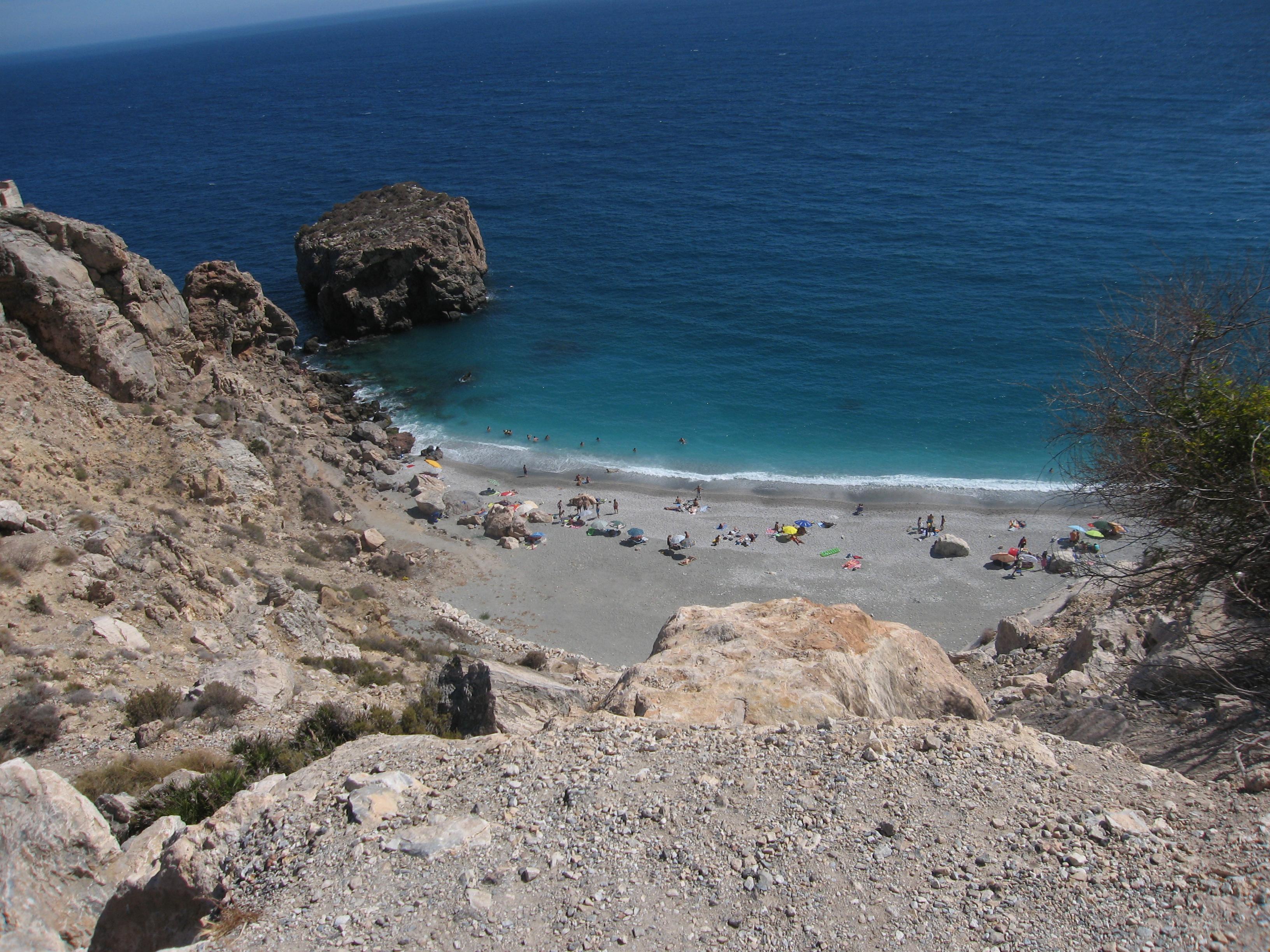 Foto playa La Rijana.