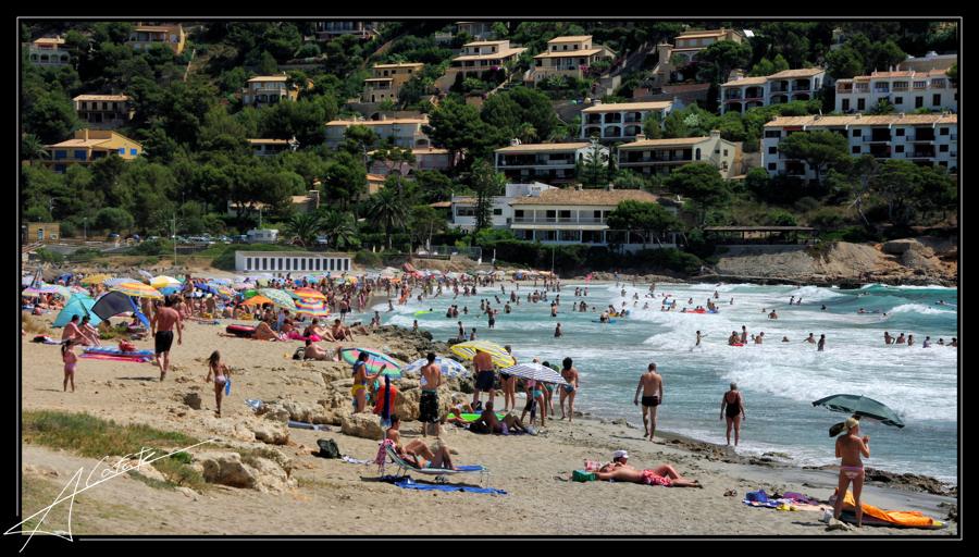 Playa Cala Auberdans