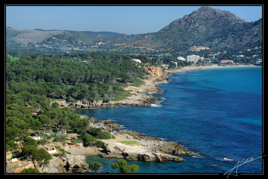 Foto playa Cala Rotja. Canyamel - Buy a print in - http://cafate.blogspot.com/