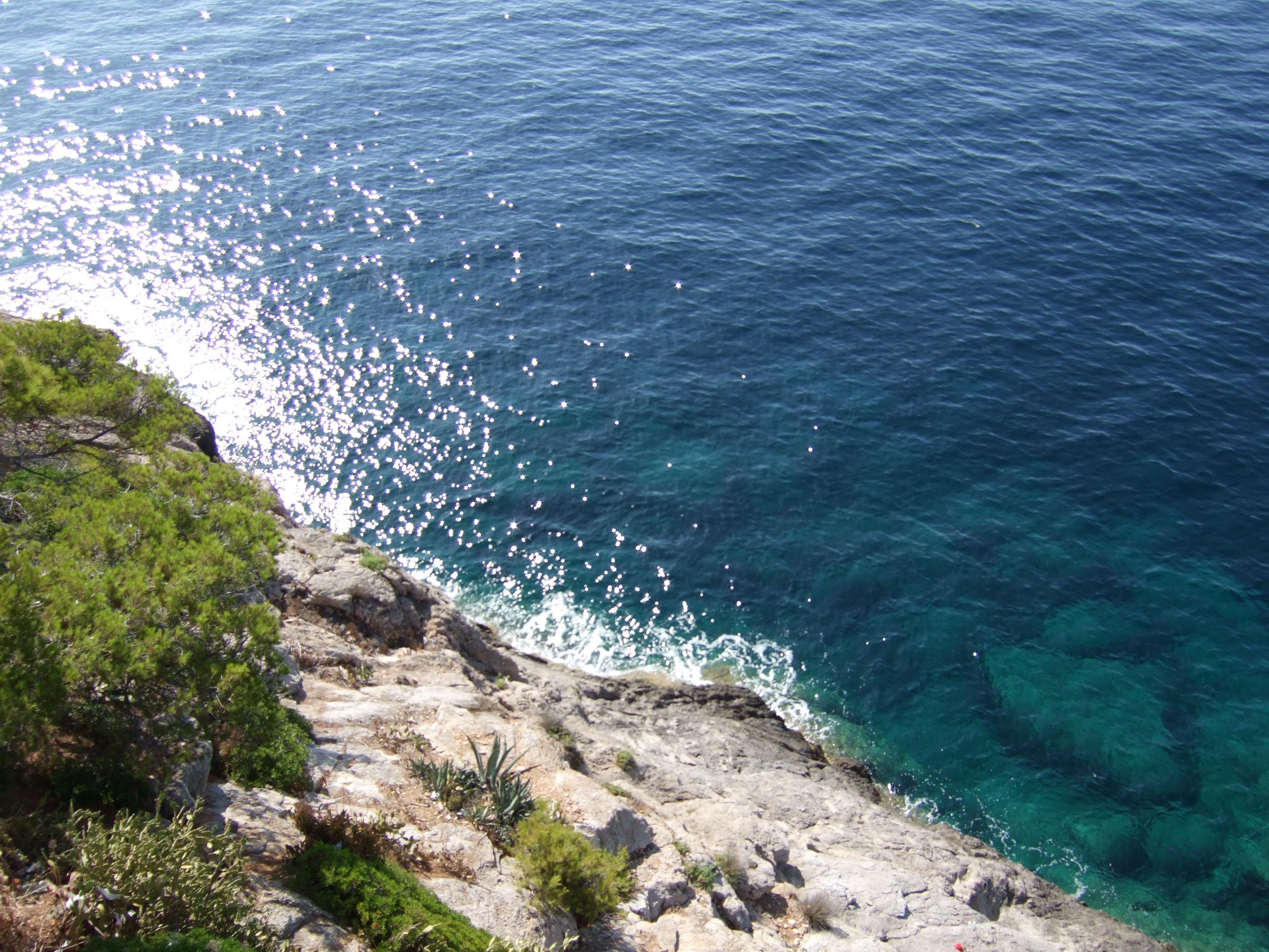 Foto playa Cala Rotja. Costa del pins