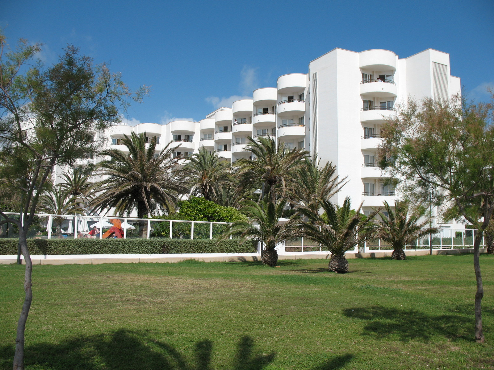 Foto playa Cala Nau. Hotel Hipocampo Playa, Cala Millor