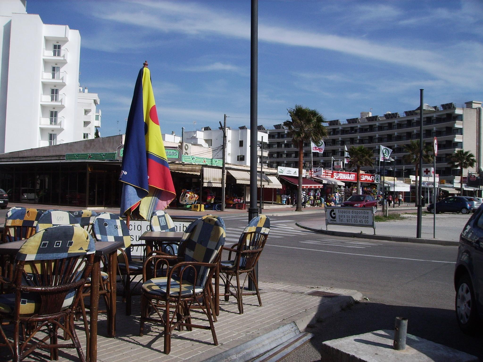 Foto playa Cala Nau. Mallorca, Cala Millor, bei der Pizzeria Venezia