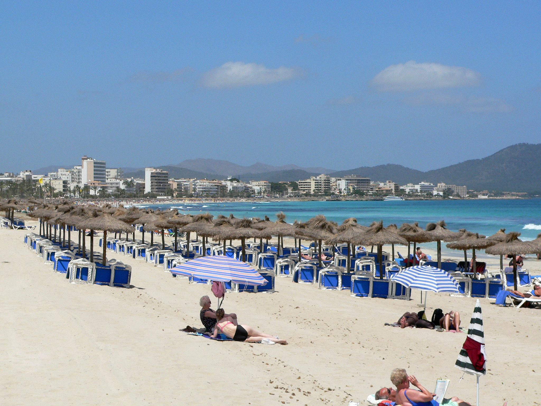 Foto playa Cala Nau. Cala Millor