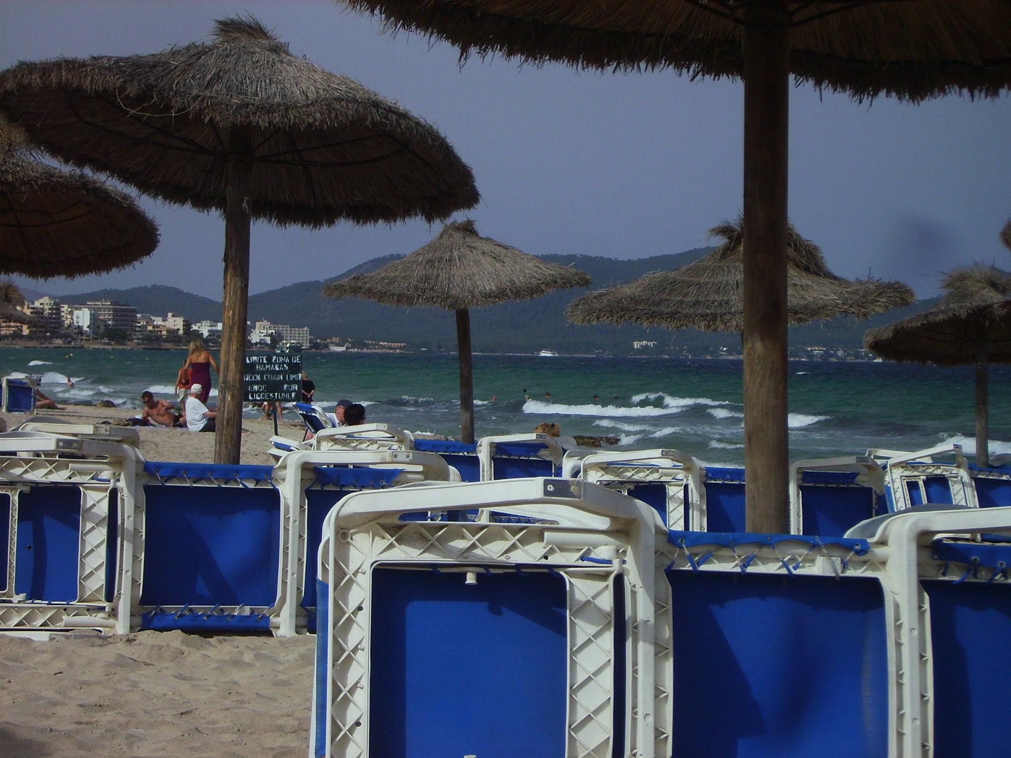 Foto playa Cala Nau. Cala Millor, Feierabend