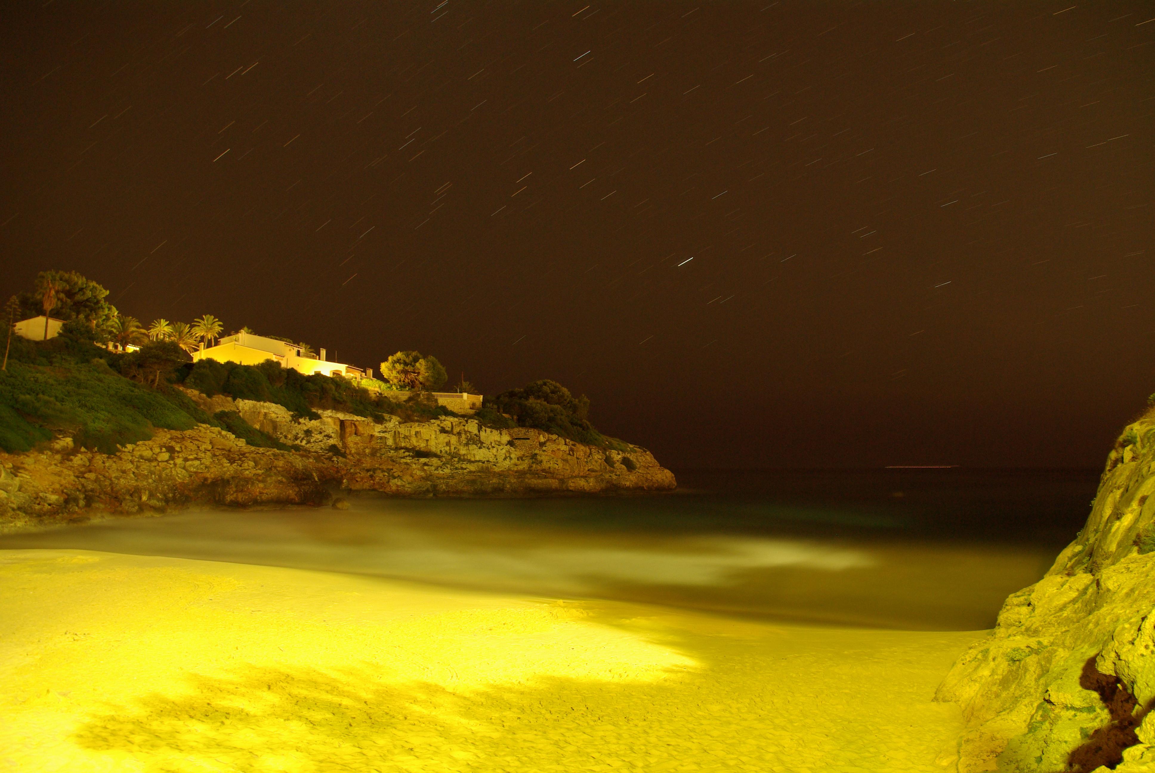 Foto playa Cala Mandia. Serenidad en Cala Anguila