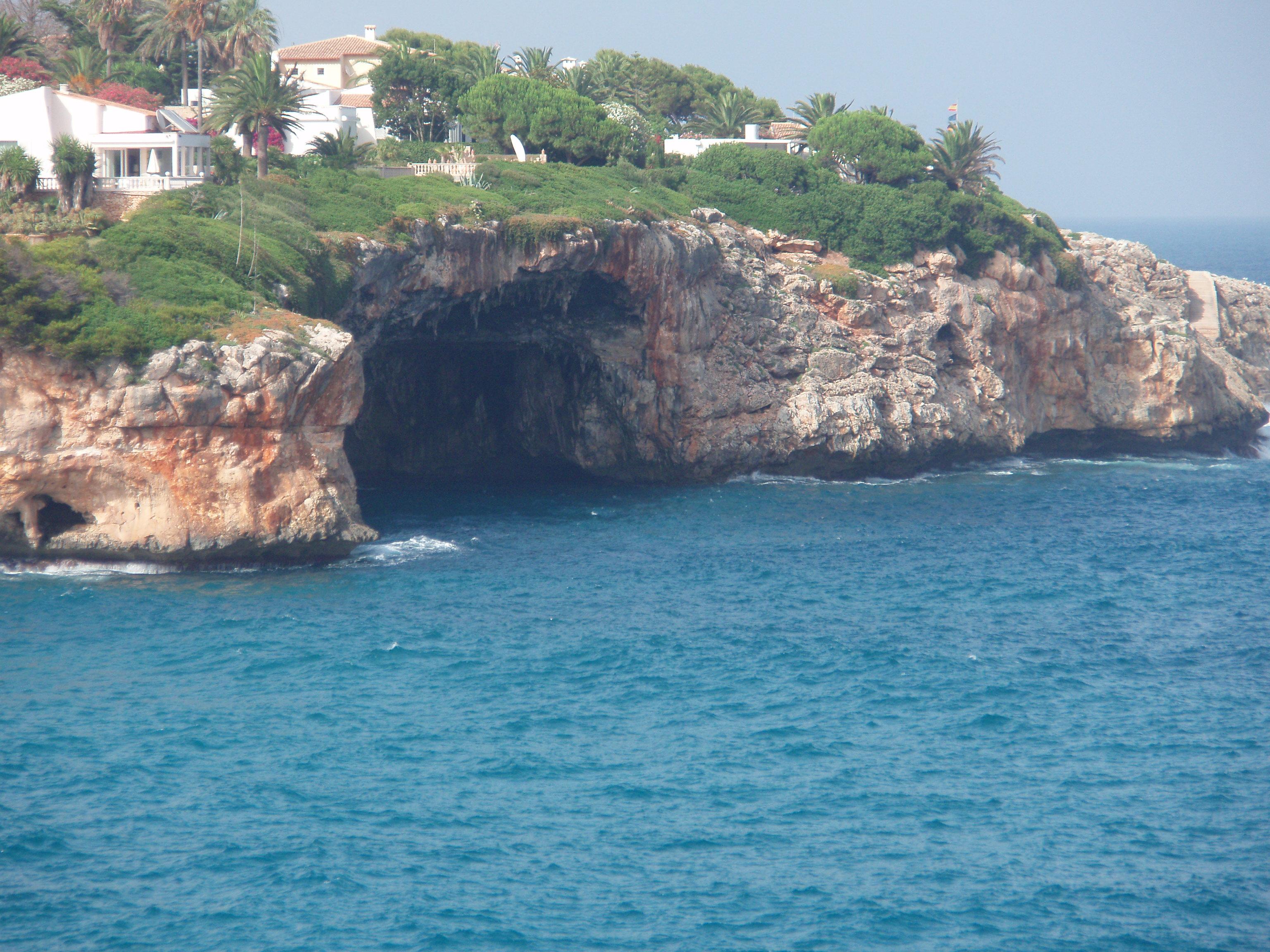 Foto playa Cala Mandia. Cala Romántica Mallorca