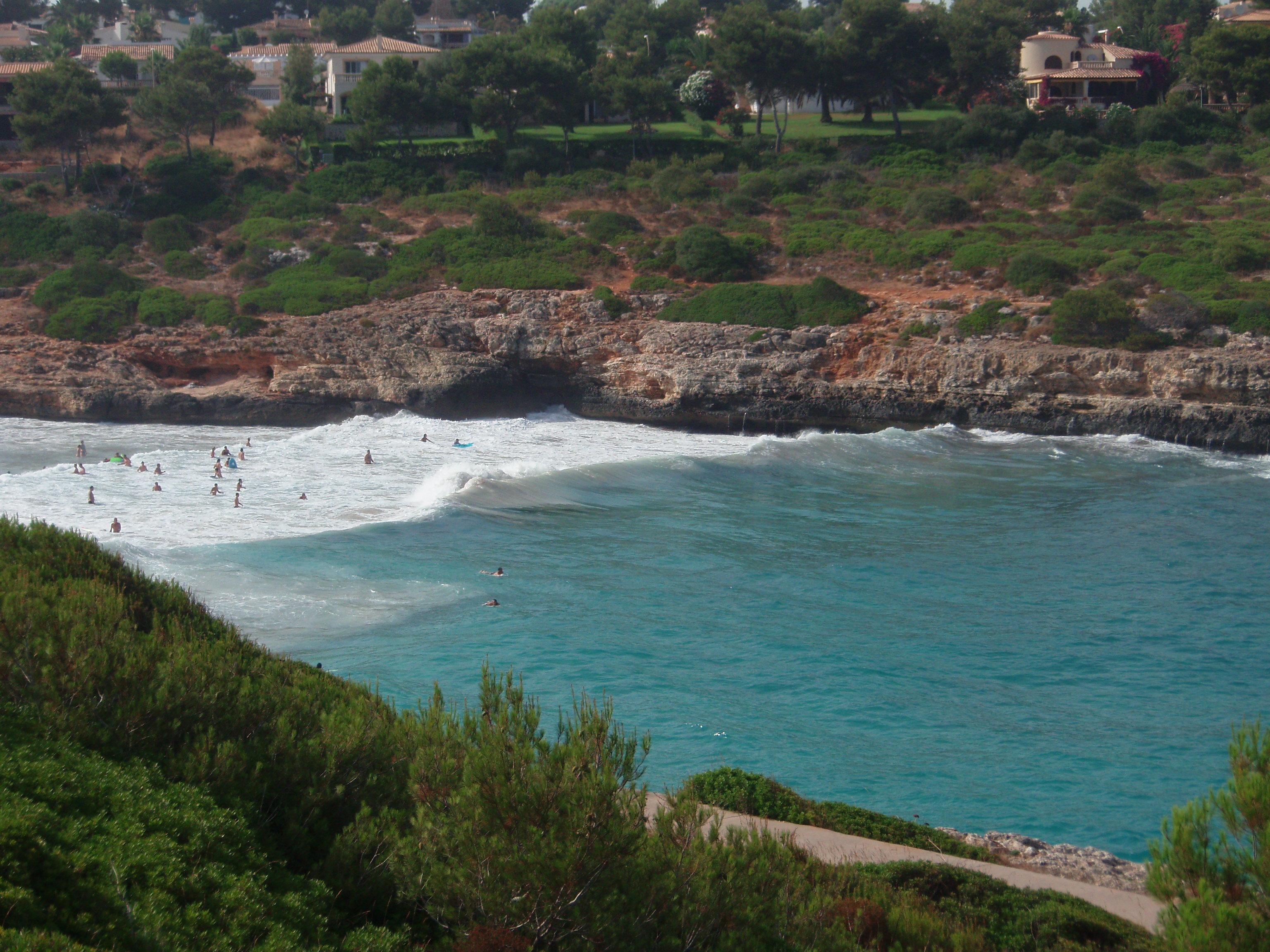 Foto playa Cala Mandia. Cala Romántica Playa Mallorca
