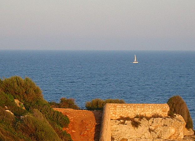 Foto playa Cala Mandia. Cala Romantica.Mallorca