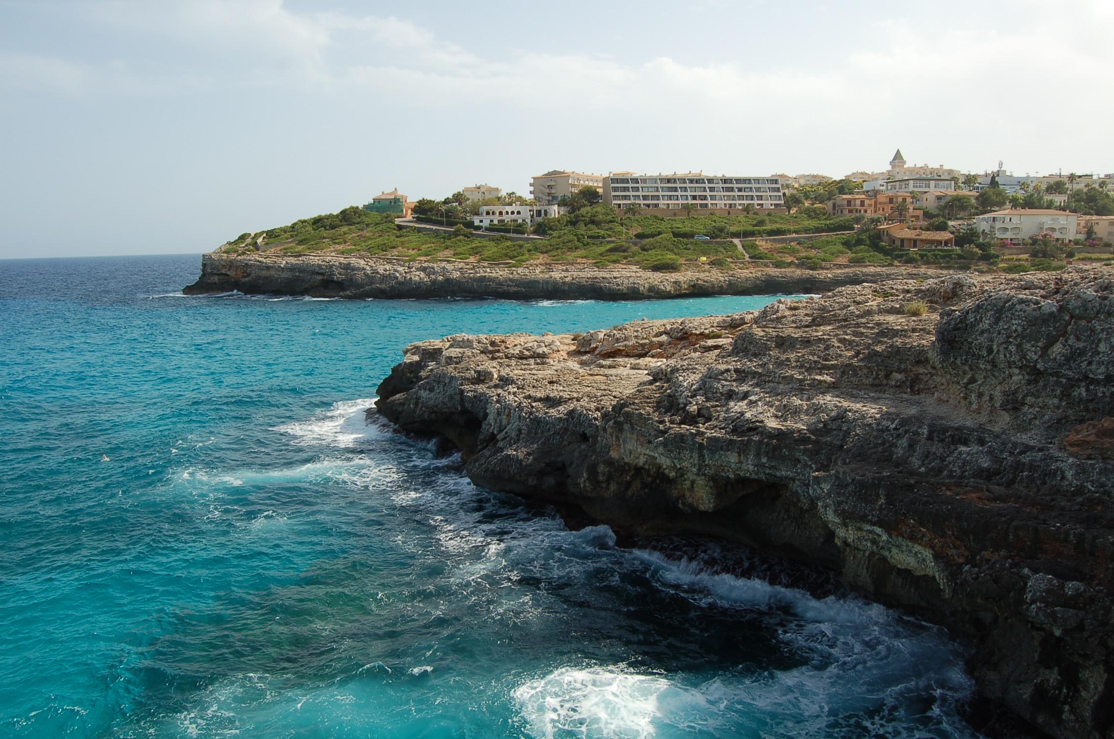 Foto playa Cala Mandia. Vista del Mar