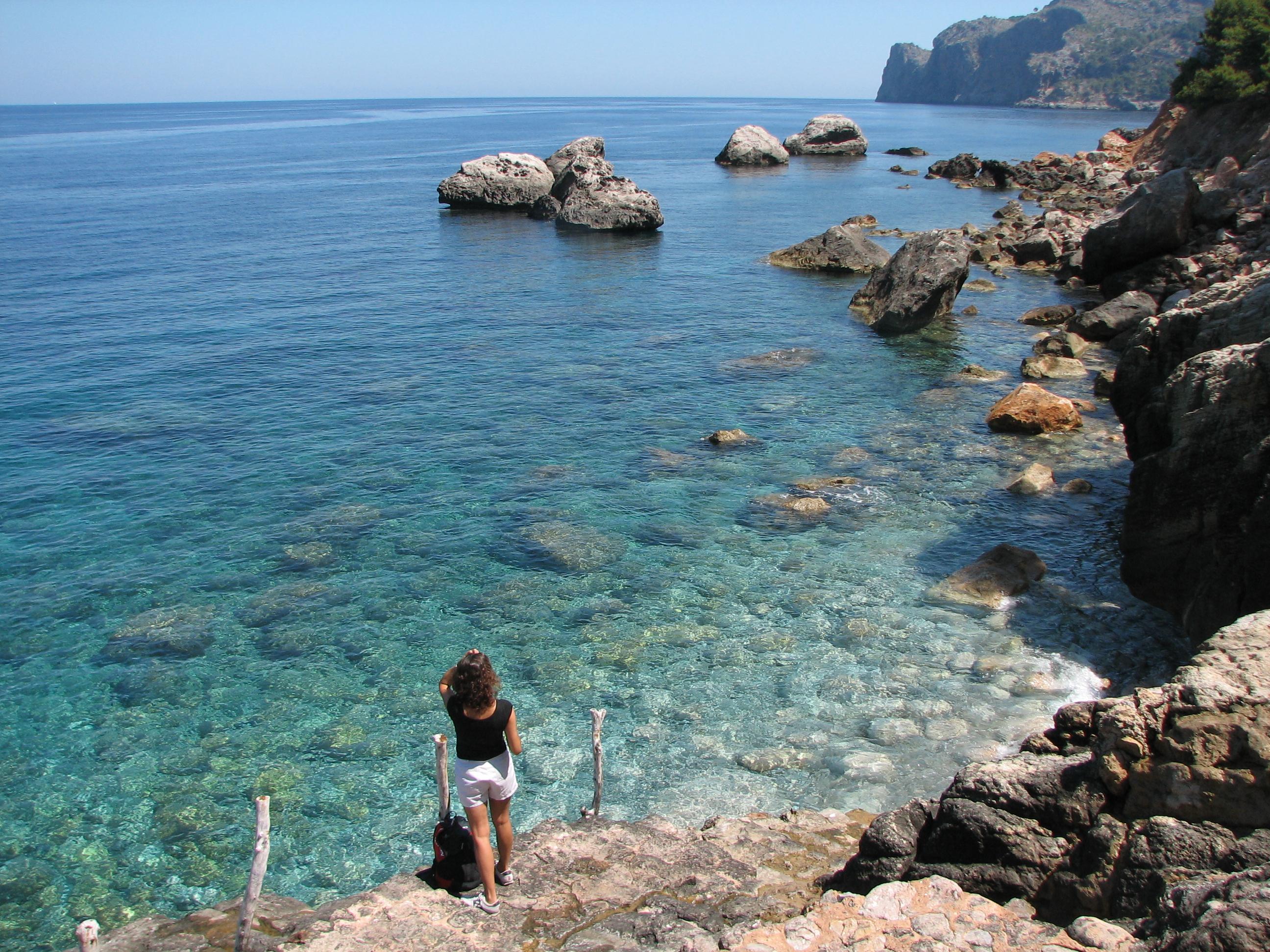 Foto playa Llucalcari. Summer