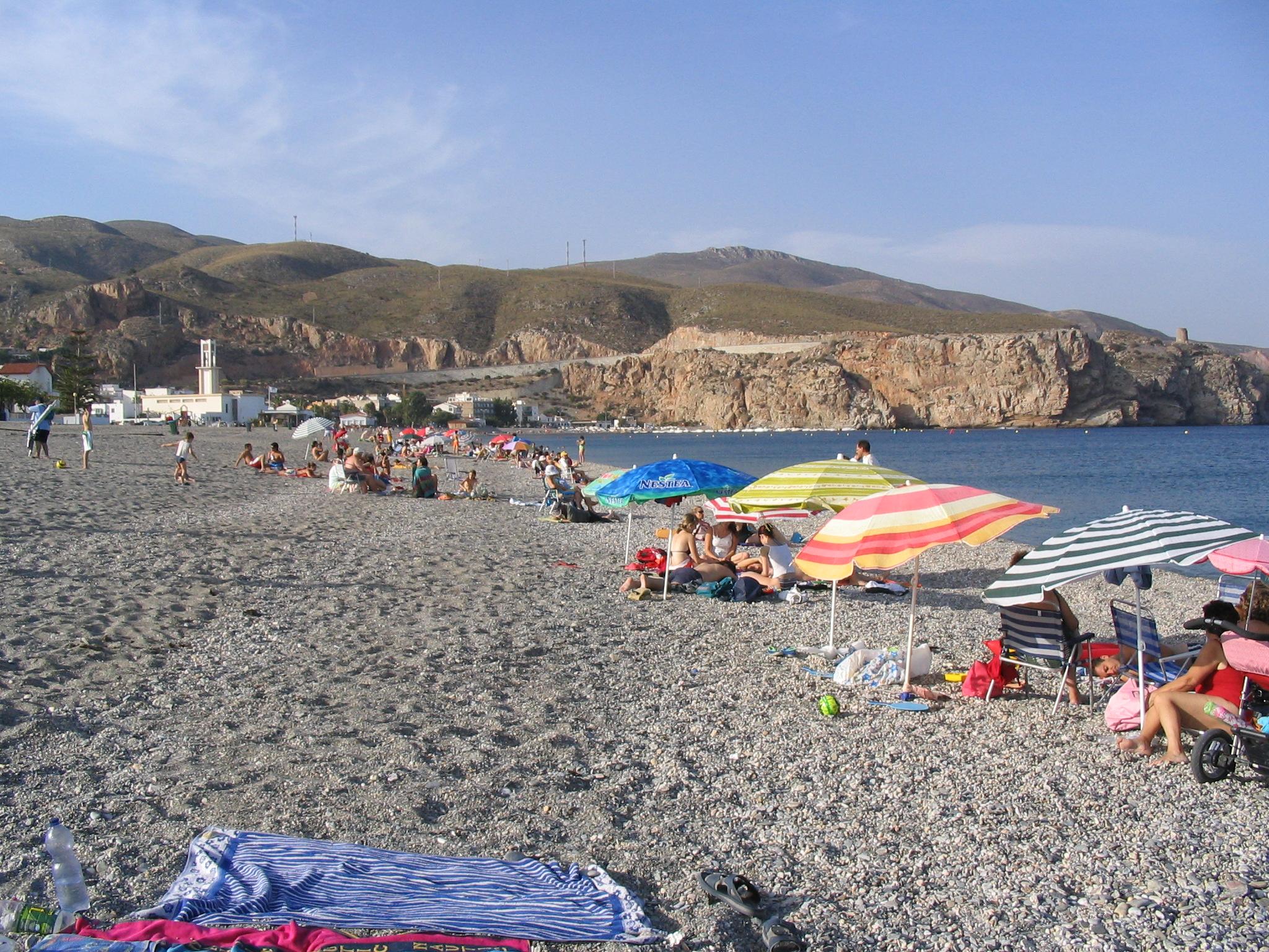 Foto playa Carchuna. Playa de Calahonda