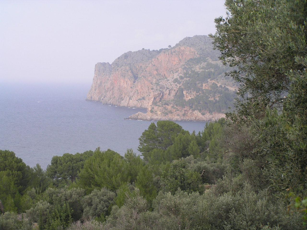 Foto playa Llucalcari. Northern Coast from Llucalcari P1012903