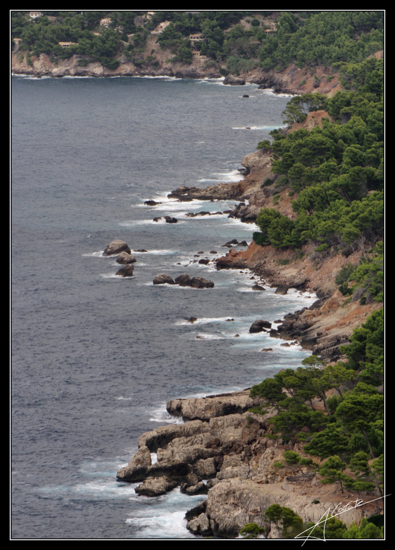 Foto playa Llucalcari. Costa nort de Mallorca - Costa norte de Mallorca - Buy a print in - http://cafate.blogspot.com/
